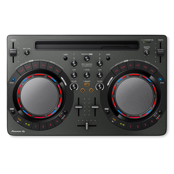 DJ контроллер Pioneer DDJ-WEGO4-K Black pioneer ddj wego4 w