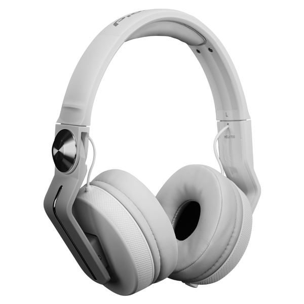 Охватывающие наушники Pioneer HDJ-700 White наушники закрытого типа pioneer se ms5t s silver