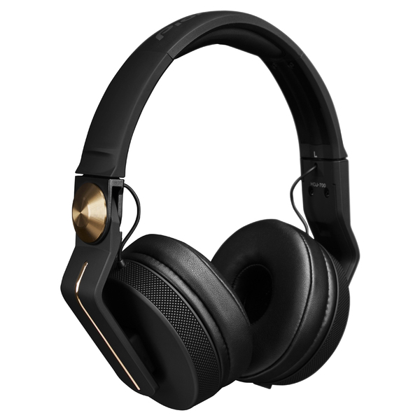 Охватывающие наушники Pioneer HDJ-700 Black/Gold