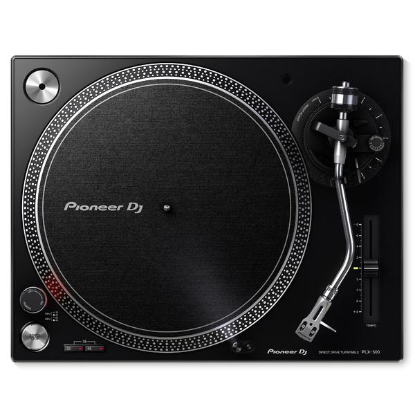 DJ виниловый проигрыватель Pioneer PLX-500-K Black изображение