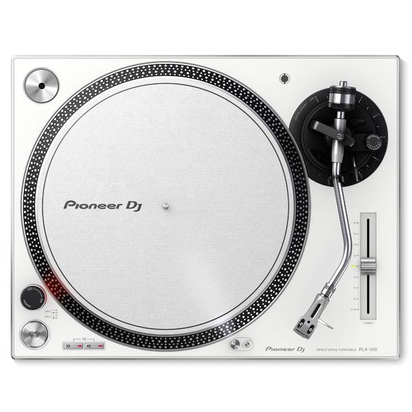 DJ виниловый проигрыватель Pioneer PLX-500-W White изображение