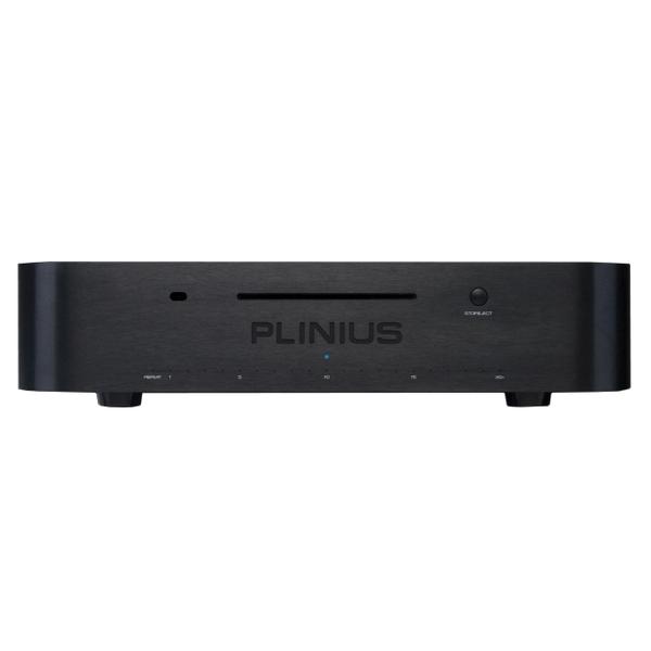 CD проигрыватель PliniusCD проигрыватель<br>CD-проигрыватель с мультибитным ЦАПом  Burr-Brown PCM1704, щелевая загрузка диска, минималистичный LED-индикатор, пульт ДУ, габариты 450x105x400 мм, вес 10 кг.<br>