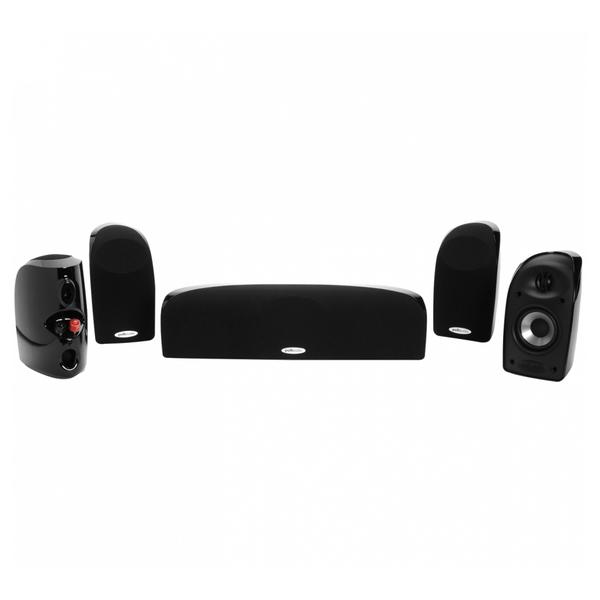 Комплект акустики 5.0 Polk Audio TL150 Black комплекты акустики magnat tempus 55 33 center 22 black