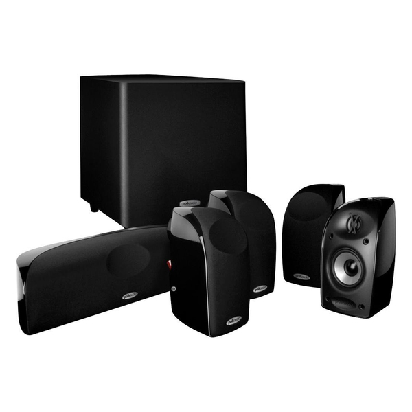 Комплект акустики 5.1 Polk Audio TL1600 Black комплекты акустики magnat tempus 55 33 center 22 black
