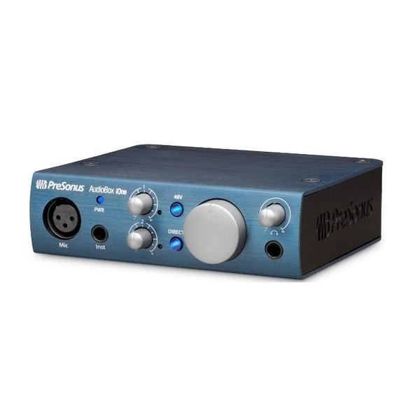 Внешняя студийная звуковая карта PreSonus AudioBox iOne аудио интерфейс presonus audiobox 44vsl ubs 2 0