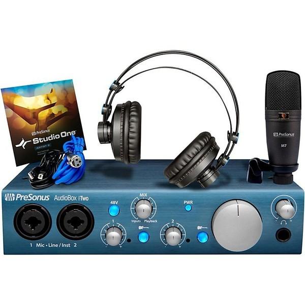 Внешняя студийная звуковая карта PreSonus AudioBox iTwo Studio изображение