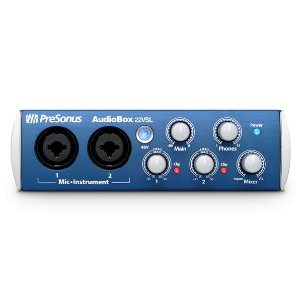 Внешняя студийная звуковая карта PreSonus