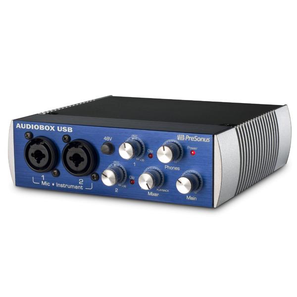 Внешняя студийная звуковая карта PreSonus AudioBox USB аудио интерфейс presonus audiobox 44vsl ubs 2 0