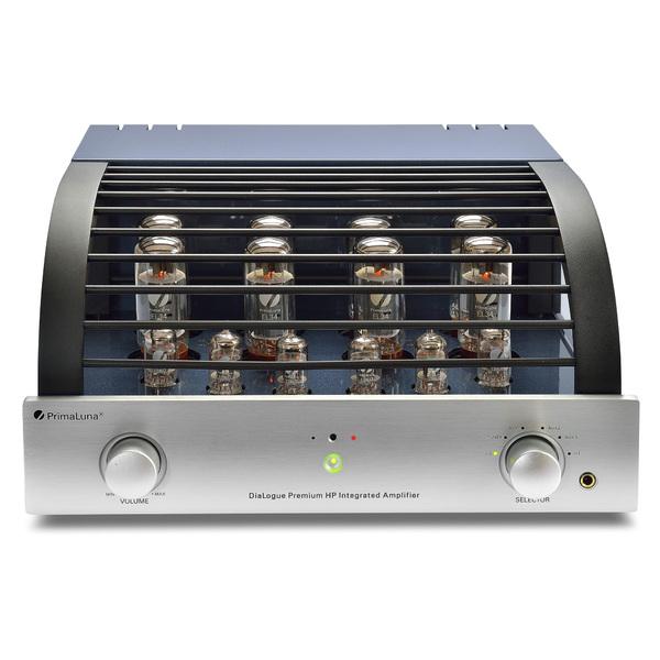 Ламповый стереоусилитель PrimaLuna DiaLogue Premium HP Silver усилители ламповые primaluna dialogue premium hp stereo mono silver