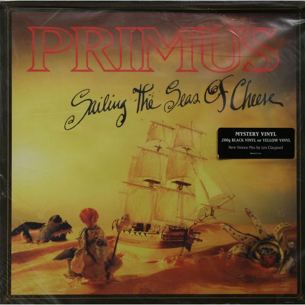 PRIMUS PRIMUS - SAILING THE SEA OF CHEESE (200 GR) primus primus sailing the seas of cheese deluxe edition 2 cd blu ray