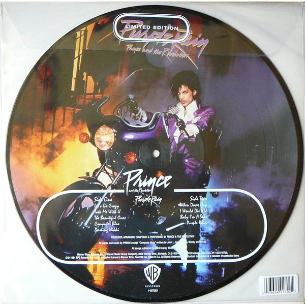 Prince Prince   The Revolution - Purple Rain (picture Disc) prince prince sign o the times 2 lp