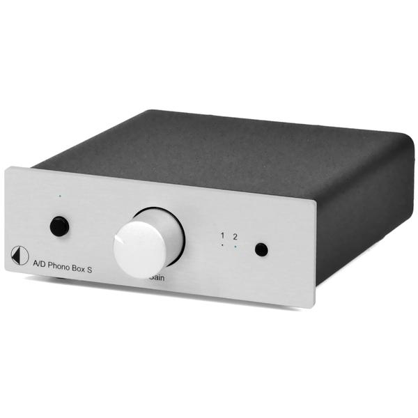 Фонокорректор Pro-Ject A/D Phono Box S Silver