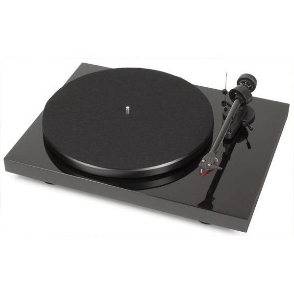 Виниловый проигрыватель Pro-Ject Debut Carbon DC Piano Black (2M-Red) акустика центрального канала paradigm prestige 55c piano black