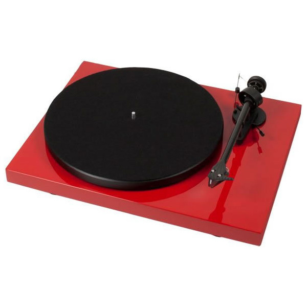 Виниловый проигрыватель Pro-Ject Debut Carbon DC Phono USB Red (OM-10) pro ject vt e r red om 5e