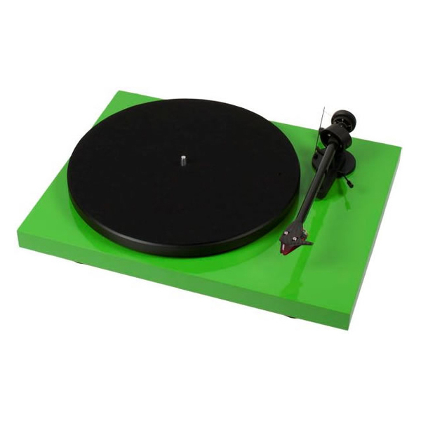 Виниловый проигрыватель Pro-Ject Debut Carbon DC Green (2M-Red) pro ject debut carbon esprit dc green ortofon 2m red