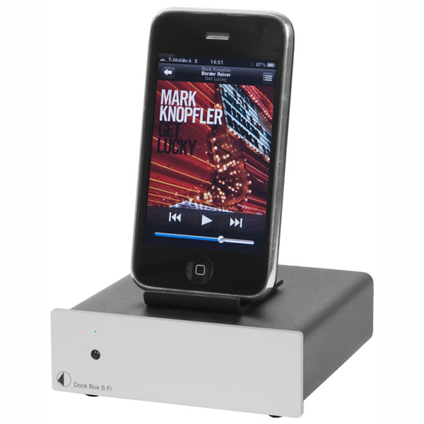 Dock Box S Fi Silver