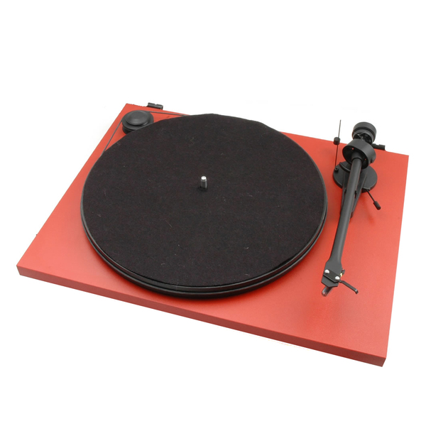 Виниловый проигрыватель Pro-Ject Essential II DC Red (OM-5e) pro ject vt e r red om 5e