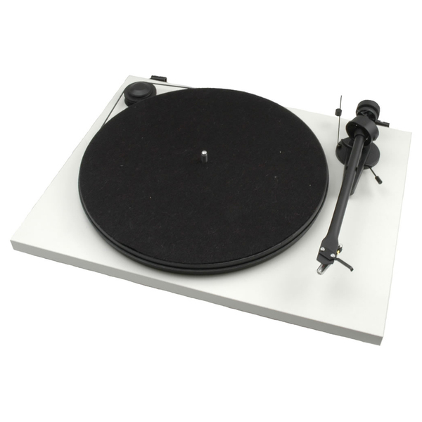 Виниловый проигрыватель Pro-Ject Essential II DC White (OM-5e) pro ject vt e r red om 5e