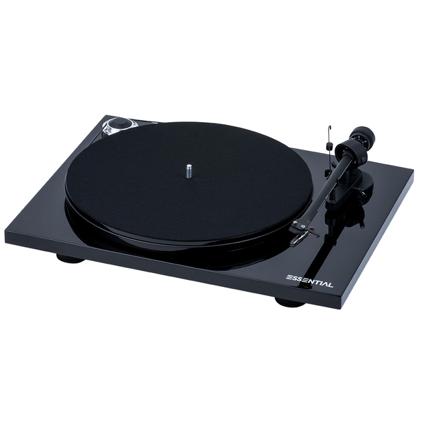 Виниловый проигрыватель Pro-Ject Essential III Phono Piano Black (OM-10) акустика центрального канала paradigm prestige 55c piano black