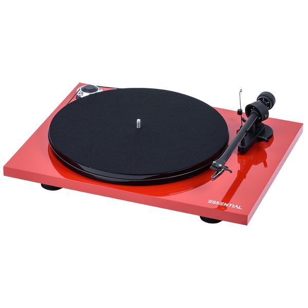 все цены на Виниловый проигрыватель Pro-Ject Essential III Phono Red (OM-10) онлайн