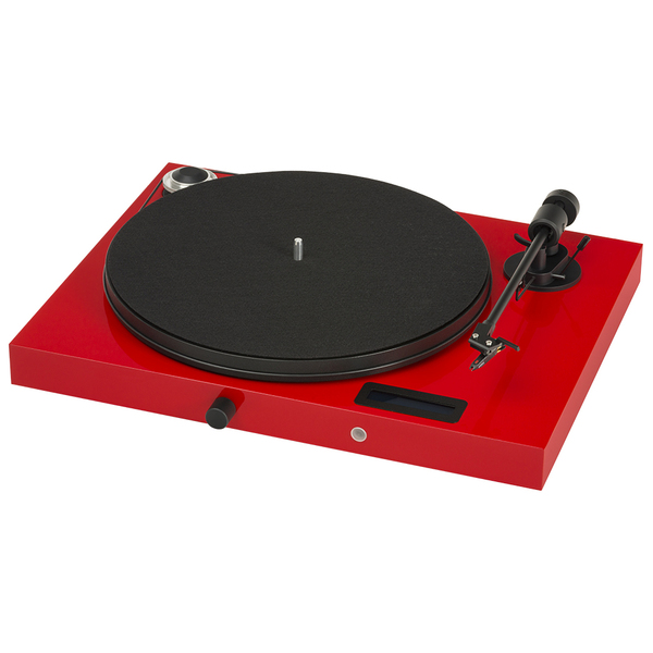 Виниловый проигрыватель Pro-Ject Juke Box E Red (OM-5e) 2pcs in box om cj1w bat01 130228yk