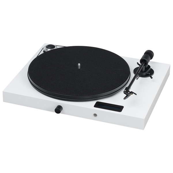 Виниловый проигрыватель Pro-Ject Juke Box E White (OM-5e) 2pcs in box om cj1w bat01 130228yk