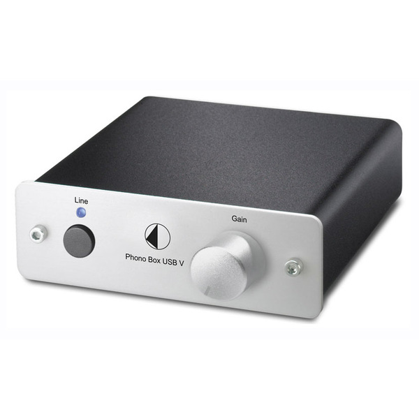 Фонокорректор Pro-Ject Phono Box USB V Silver