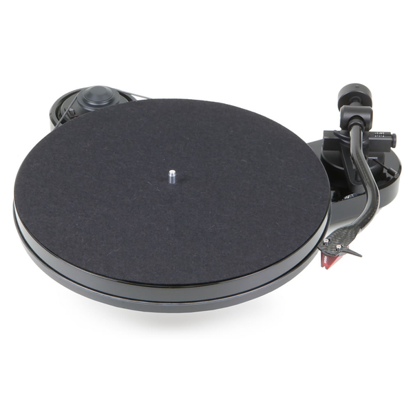 Виниловый проигрыватель Pro-Ject RPM 1 Carbon Piano Black (2M Red)  виниловый проигрыватель pro ject rpm 5 carbon red