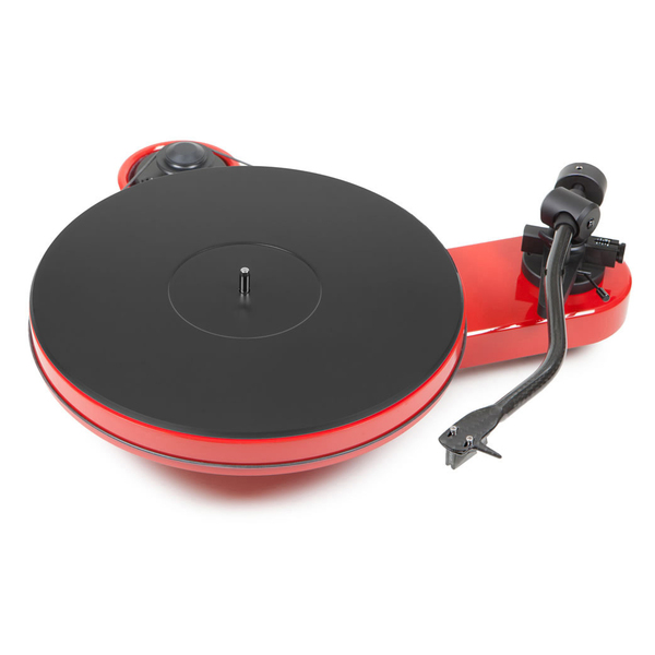 Виниловый проигрыватель Pro-Ject RPM 3 Carbon Red (2M Silver)  виниловый проигрыватель pro ject rpm 5 carbon red