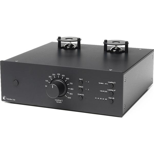 Ламповый фонокорректор Pro-Ject Tube Box DS2 Black ламповый фонокорректор pro ject tube box ds2 silver
