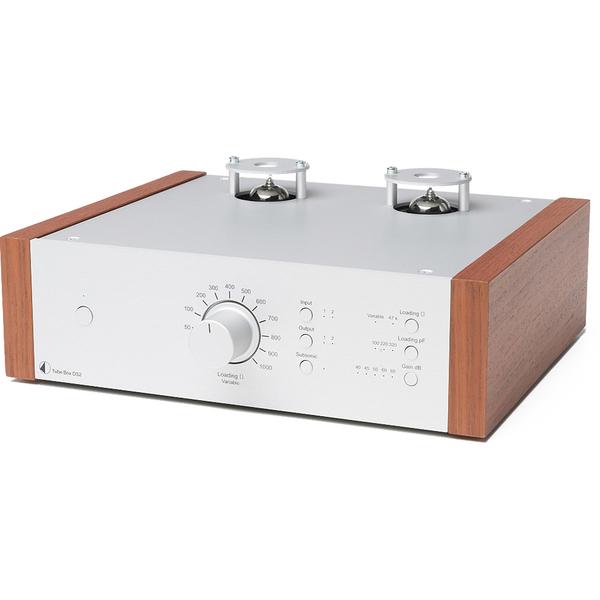 Ламповый фонокорректор Pro-Ject Tube Box DS2 Silver/Rosenut ламповый фонокорректор pro ject tube box ds2 silver