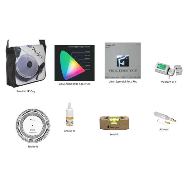 Товар (аксессуар для винила) Pro-Ject Набор для настройки винила Turntable Adjustment Kit Basic