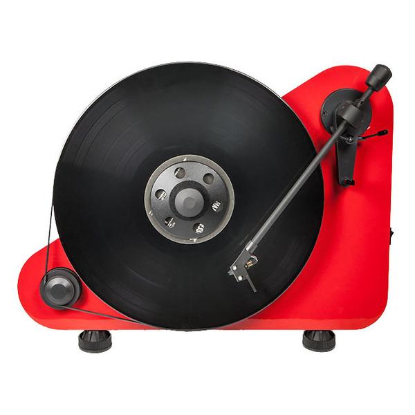 Виниловый проигрыватель Pro-Ject VT-E R Red (OM-5e) pro ject vt e r red om 5e
