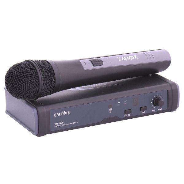 Радиосистема PROAUDIO WS-805HT-A вокальный микрофон proaudio md 50
