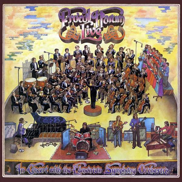 Procol Harum Procol Harum - Live In Concert With The Edmonton Symphony (2 Lp, Colour) camel pressure points live in concert
