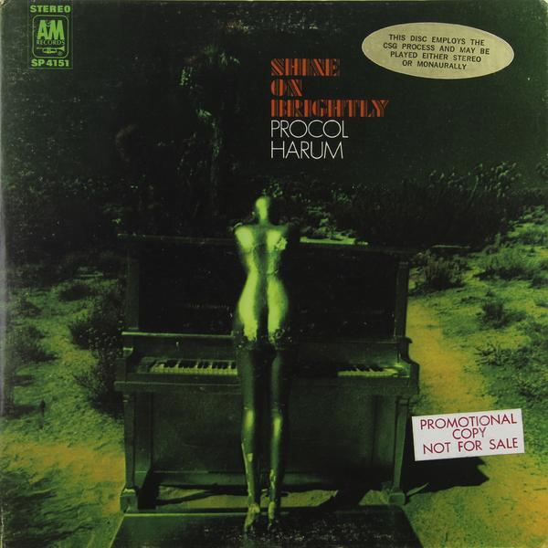 Procol Harum Procol Harum - Shine On Brightly (usa Original. 1st Press. Promo) (винтаж)