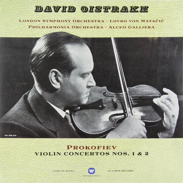 Prokofiev Prokofiev - Violin Concertos Nos. 1   2 various sibelius goldmark violin concertos