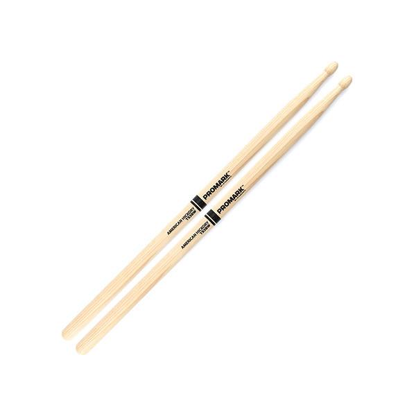 Электронные барабаны ProMark Палочки барабанные  TX5BW HICKORY 5B Wood Tip изображение