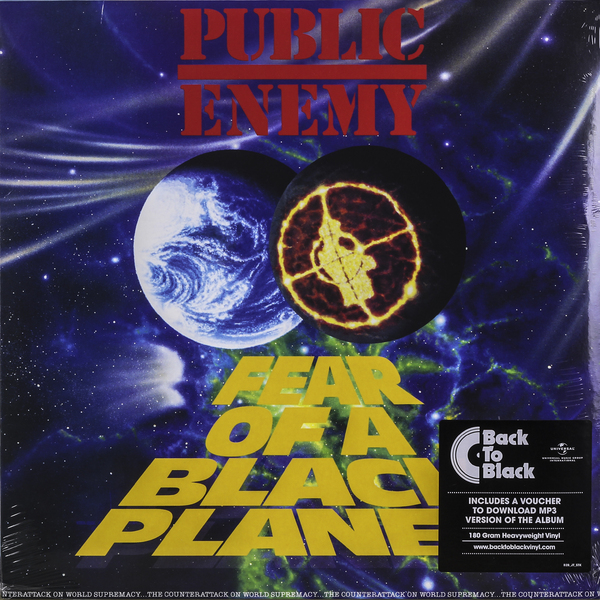 Public Enemy Public Enemy - Fear Of A Black Planet (180 Gr) купить