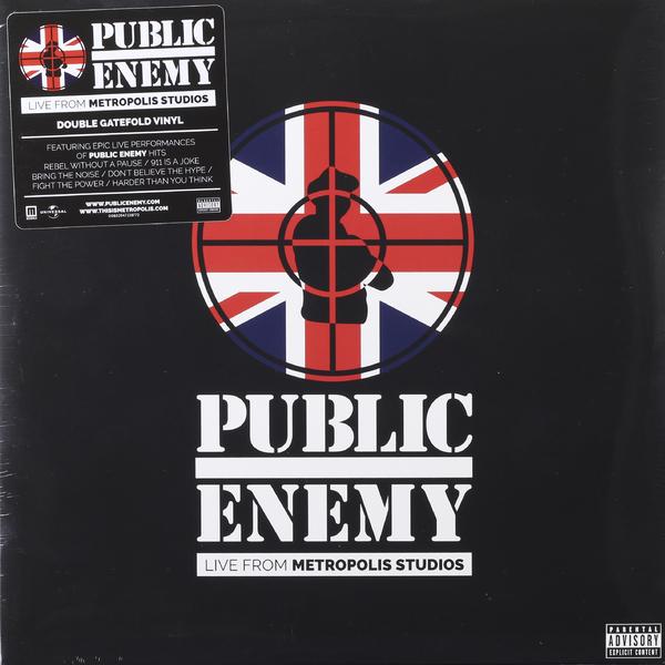 Public Enemy Public Enemy - Live From Metropolis Studios (2 LP) van der graaf generator van der graaf generator live in concert at metropolis studios london 2 cd dvd