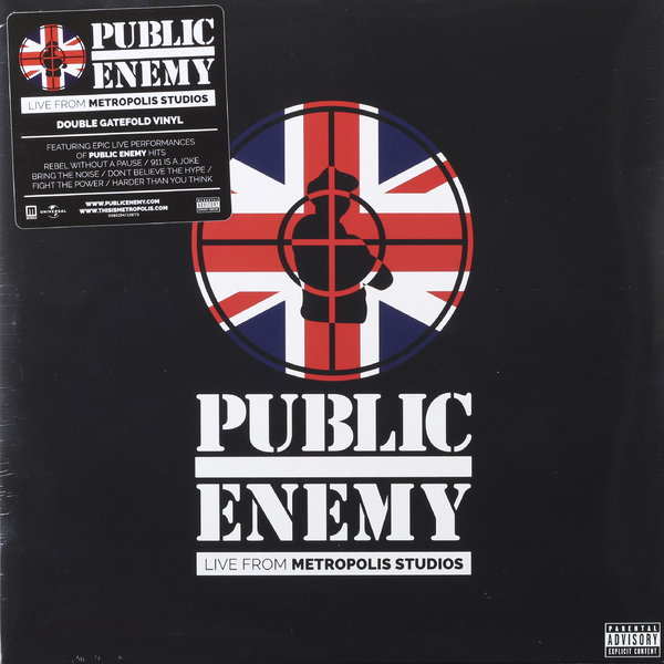 Public Enemy Public Enemy - Live From Metropolis Studios (2 LP) yes – tales from topographic oceans 2 lp