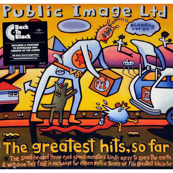 PUBLIC IMAGE LIMITED PUBLIC IMAGE LIMITED - THE GREATEST HITS… SO FAR (2 LP) the kooks the kooks best of so far 2 lp