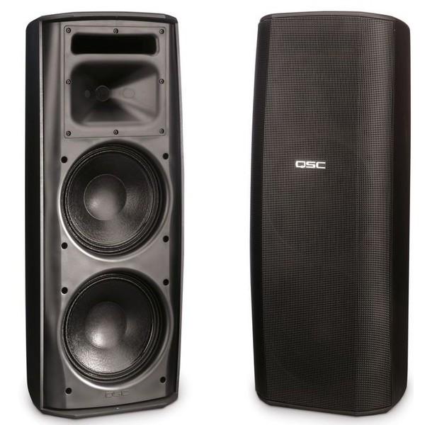 Всепогодная акустика QSCВсепогодная акустика<br>2-х полосная настенная всепогодная акустическая система, мощность 450 Вт, частотный диапазон 60-29500 Гц, звуковое давление 126 дБ, динамики: НЧ 2 х 8 + ВЧ 1, трансформаторный режим 70/100 В 1<br>