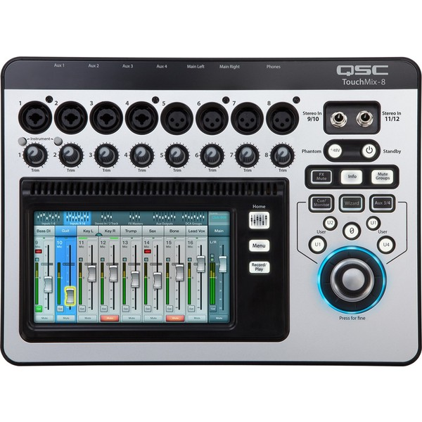 �������� ��������� ����� QSC TouchMix-8
