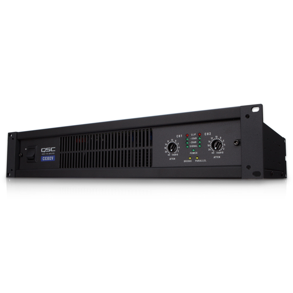 Профессиональный усилитель мощности QSCПрофессиональный усилитель мощности<br>Профессиональный двухканальный рэковый усилитель мощности класса AB+B для работы в трансляционной линии 70В или 140 В. 200 Вт/канал с нагрузкой 70В, 400 Вт – для 140В в мостовом режиме. Трансформаторы PowerLight, отключаемые лимитеры и фильтры, входы на XLR и Euroblock, порт HD15 для сетевого управления.<br>