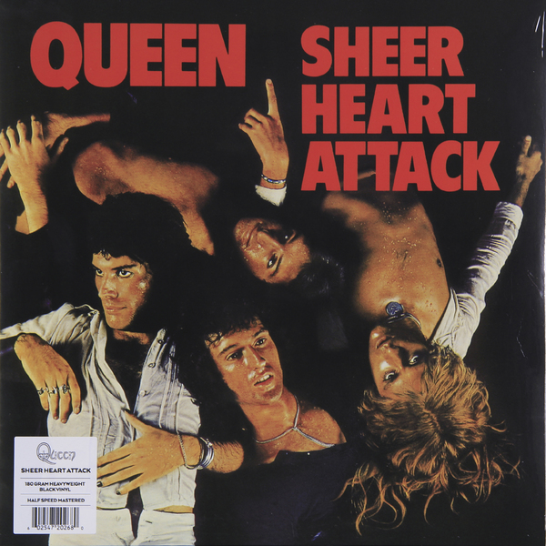 QUEEN QUEEN - Sheer Heart Attack (180 Gr) guano apes guano apes proud like a god 180 gr colour