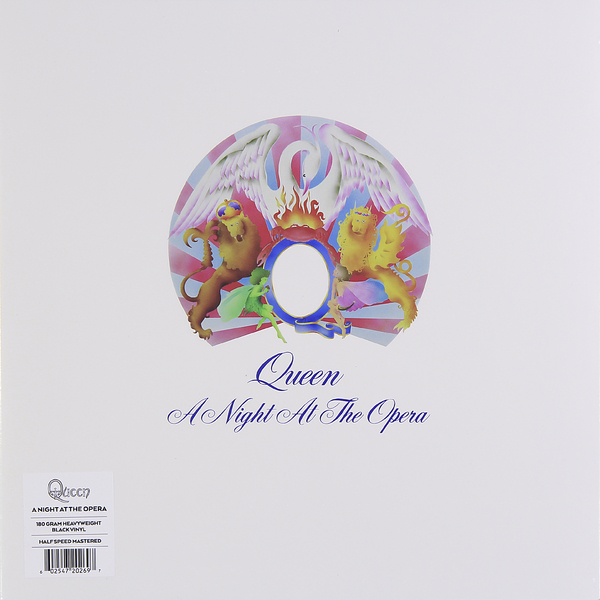 QUEEN QUEEN - A NIGHT AT THE OPERA (180 GR) save the queen ohdd повседневные брюки