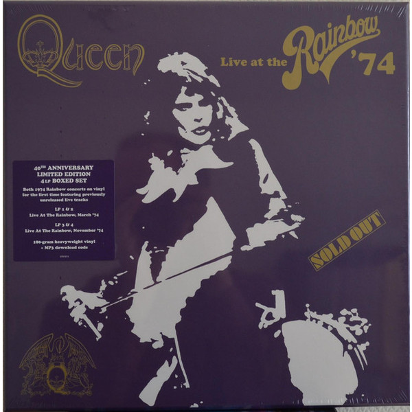 QUEEN QUEEN - Live At The Rainbow (4 Lp Box) queen – the game lp