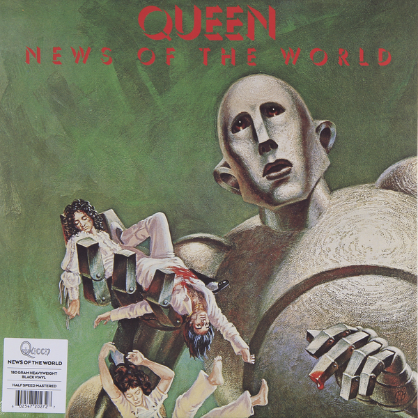 QUEEN QUEEN - NEWS OF THE WORLD (180 GR) save the queen ohdd повседневные брюки