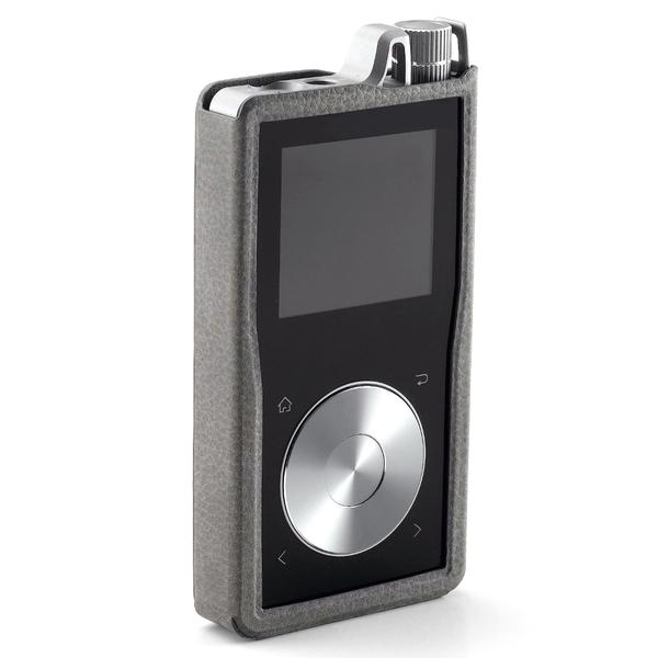 Чехол Questyle QP1R Leather Case Elephant Grey